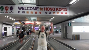We are in Hong Kong!