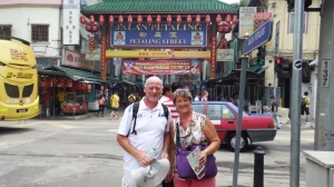 Bill and I in Chinatown