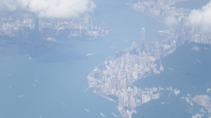Wonderful view of Hong Kong island