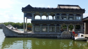 Cixi's marble boat