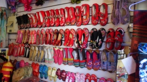 Chinese shoe shop