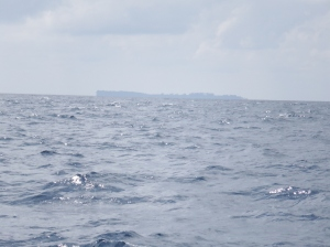 Nicobar islands in the distance