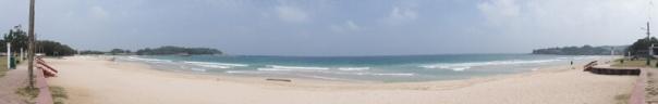 Beautiful beach at Dutch bay.