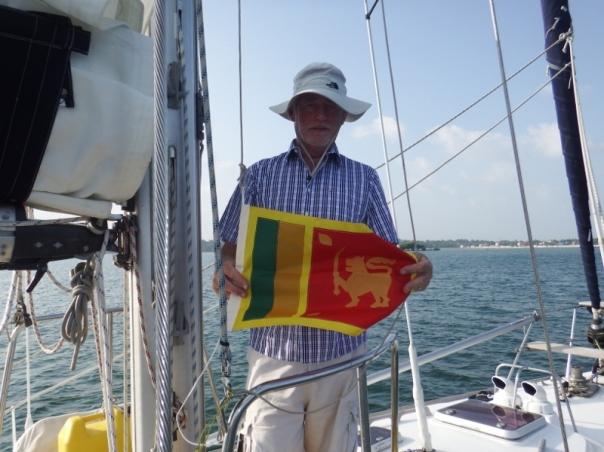 Bill raising our Sri Lankan courtesy flag