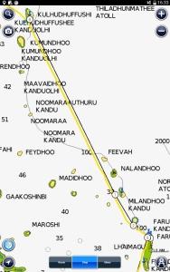 The route from Kulhuduffushi