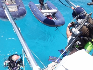 Practise dive