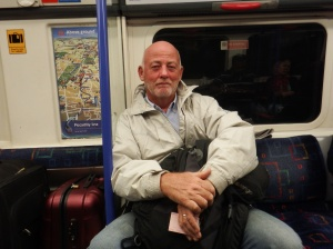 Bill on the tube