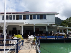The Seychelles yacht club