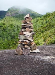 A poignant cairn