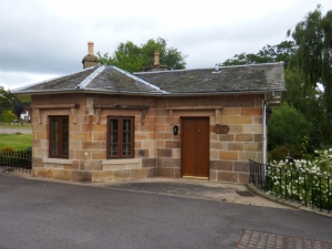 The old toll gate house