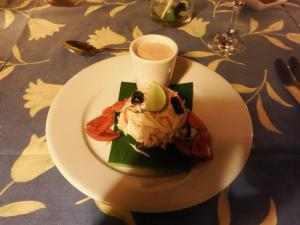 Our crab starter