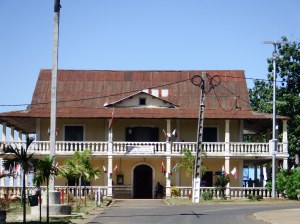Old colonial building