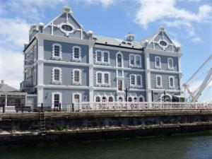 The old customs house on the waterfront