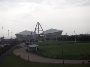 The Moses Mabhida stadium